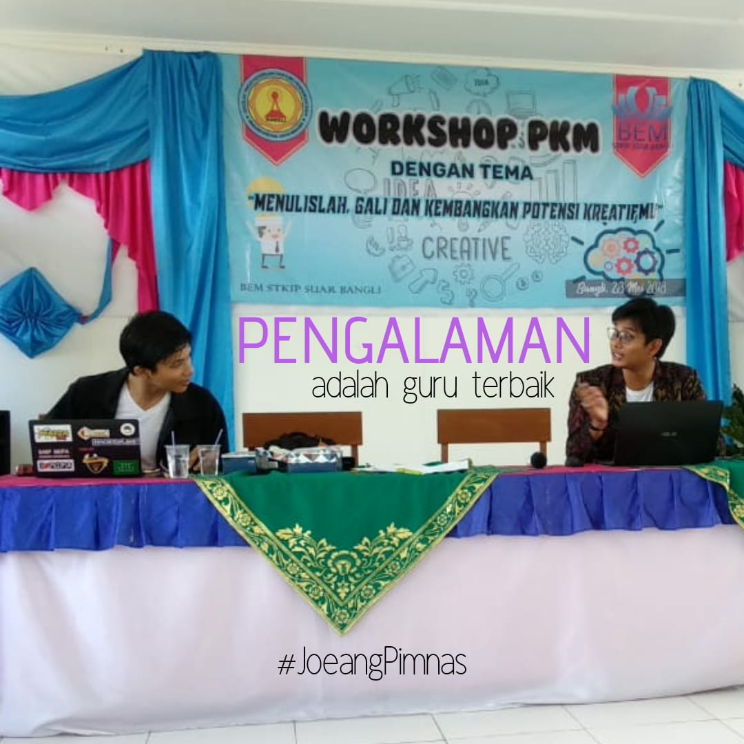 Workshop PKM STKIP Suar Bangli 2018